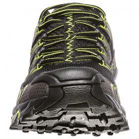 La Sportiva Ultra Raptor Juoksukengät Miehet, black/apple green